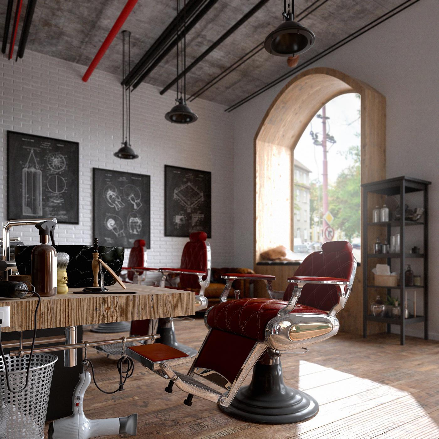 LR barbershop I