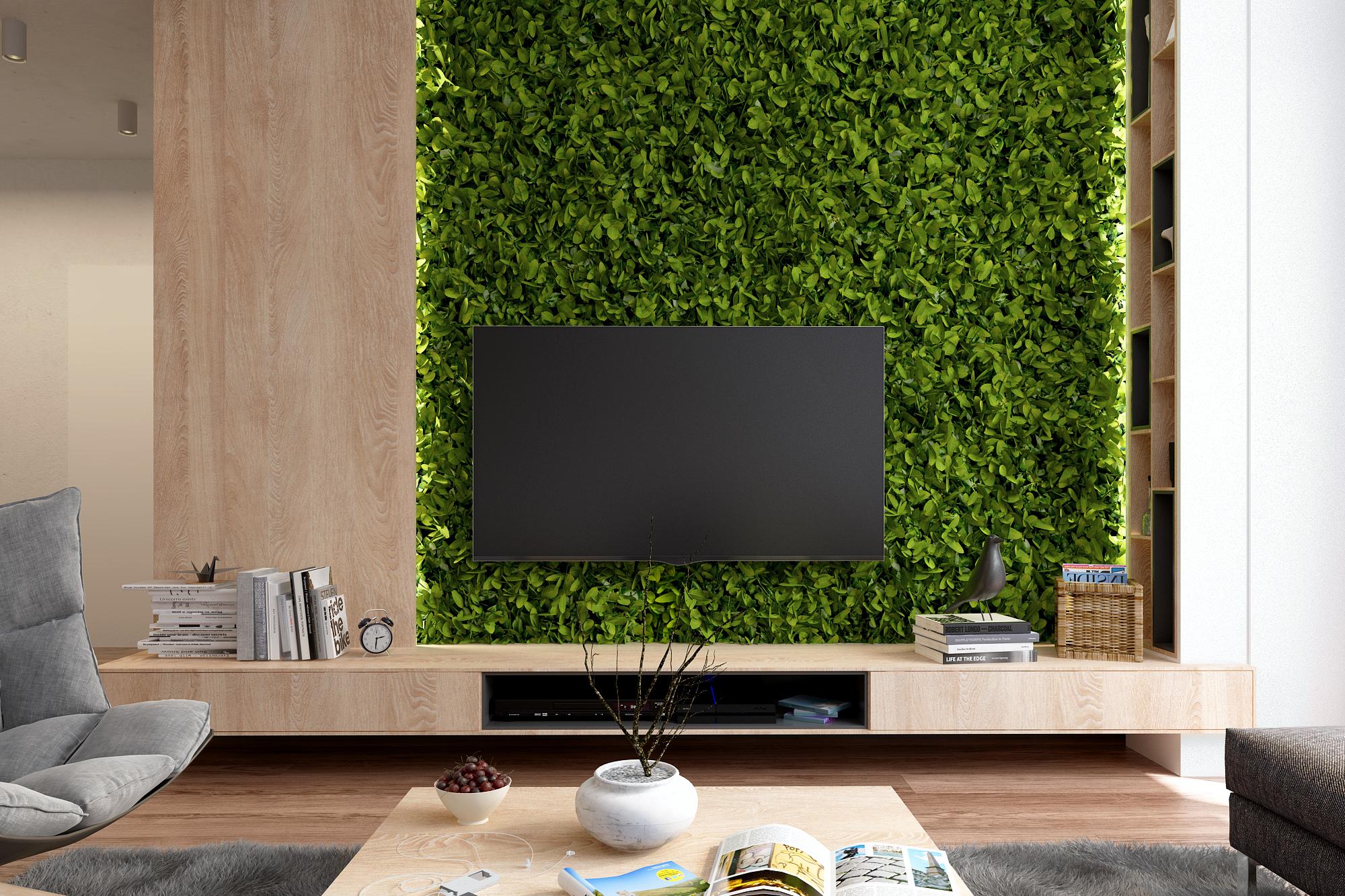 Zelený byt