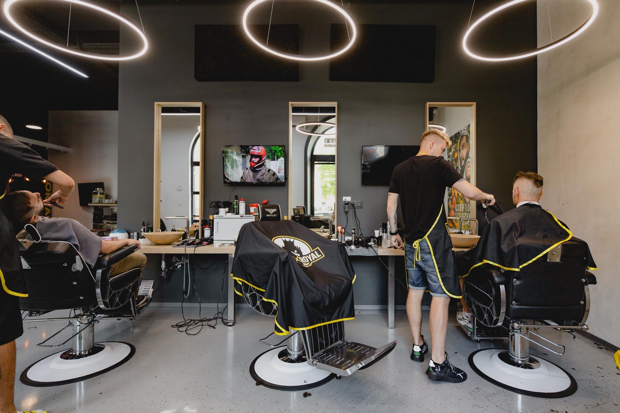 Laky Royal barbershop